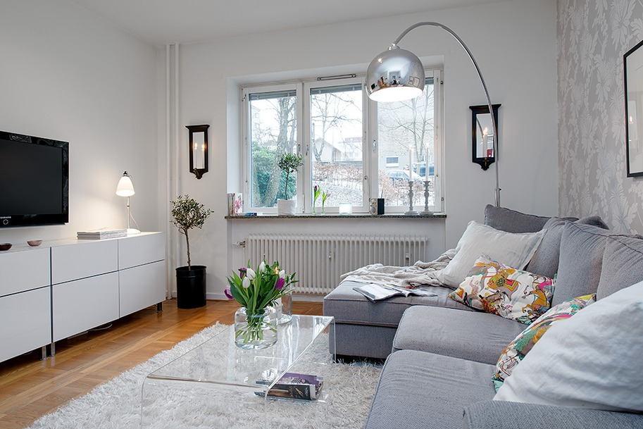 El estilo n rdico me vuelve loca for Decoracion apartamento pequeno estilo minimalista