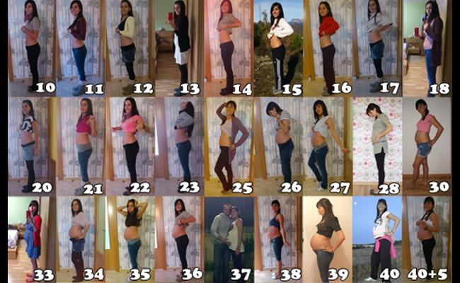 8 fotos del embarazo y la maternidad mym - De cuantos meses estoy ...