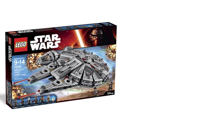 Lego Star Wars. Halcón Milenario