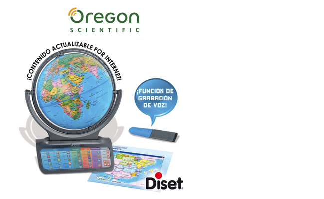 SmartGlobe Infinity de Oregon Scientifics