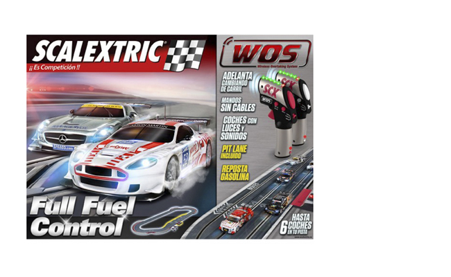 Scalextric WOS Full Fuel Control