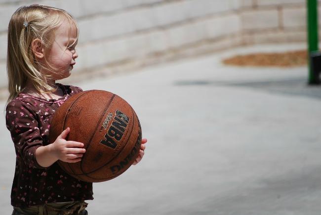 las chicas hacen deporte