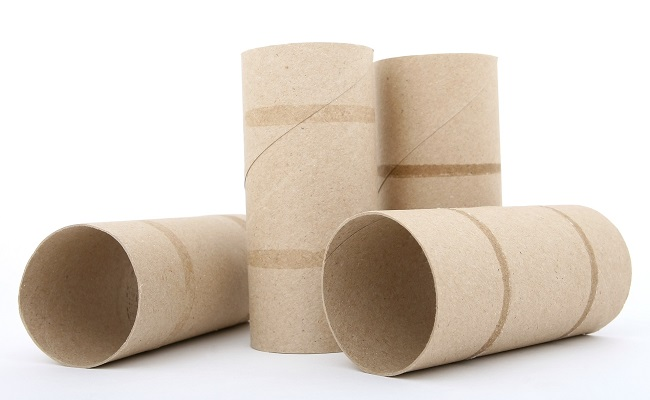 Sabes qu hacer con un rollo de papel higi nico - Rollos de papel higienico decorados ...