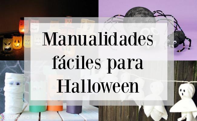 Manualidades f ciles para halloween - Dibujos de halloween faciles ...