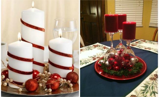 Ideas de centros de navidad para decorar tu mesa - Hacer centros de navidad ...