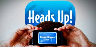 Heads up - Apps divertidas