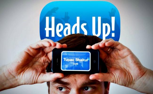 Heads up - Apps divertidas