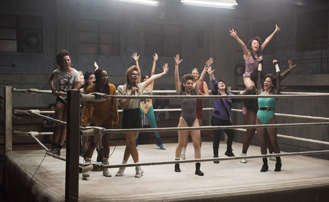 Glow, la lucha libre femenina en Netflix
