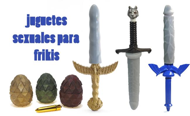 juguetes sexuales para frikis