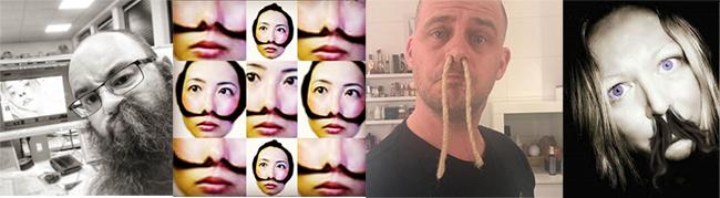 extensiones de pelo en la nariz