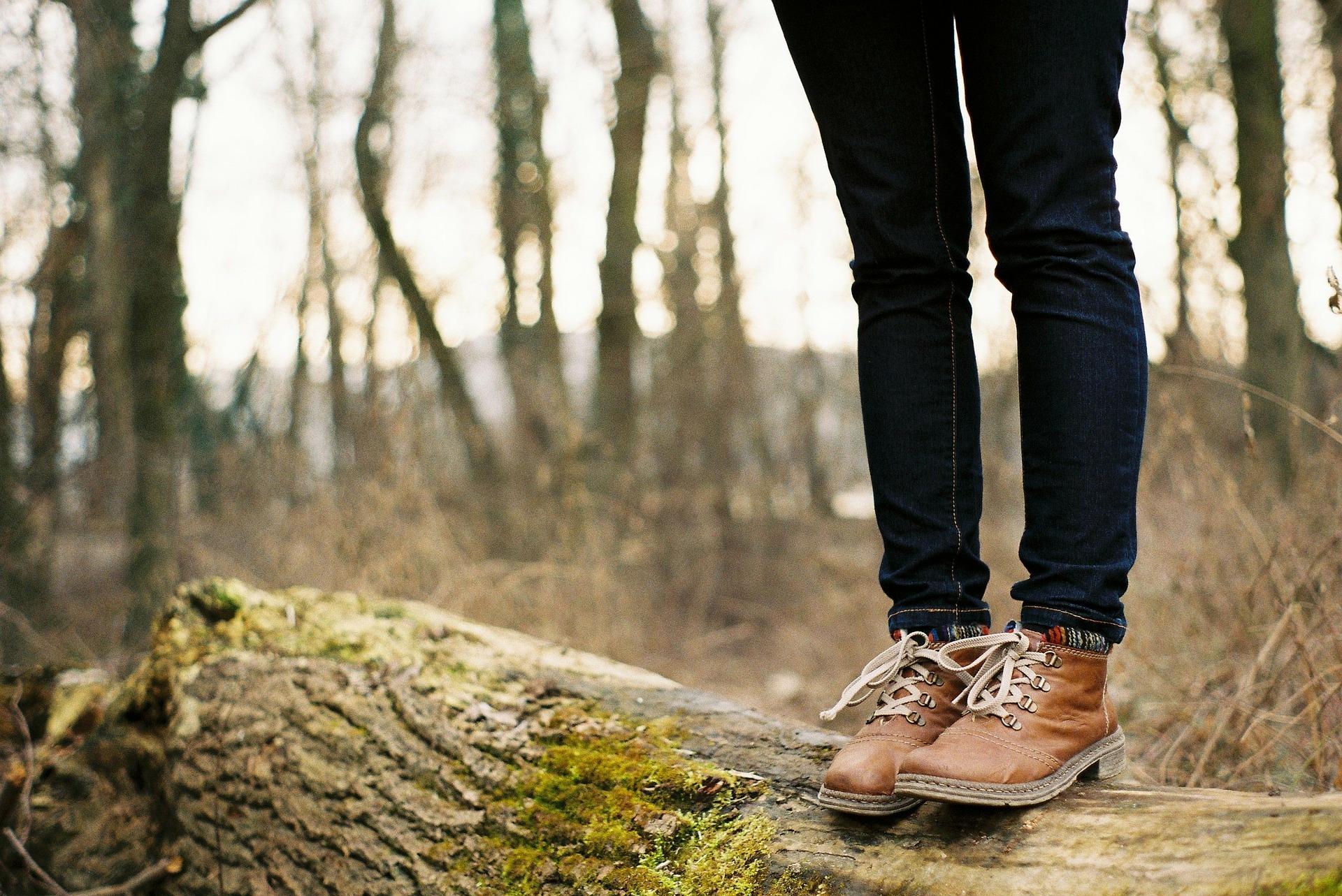al campo a caminar
