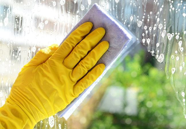 inventos para el hogar limpiar cristales