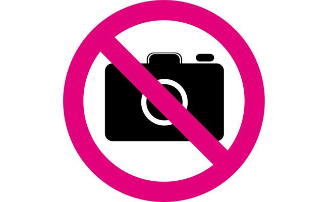 no fotos