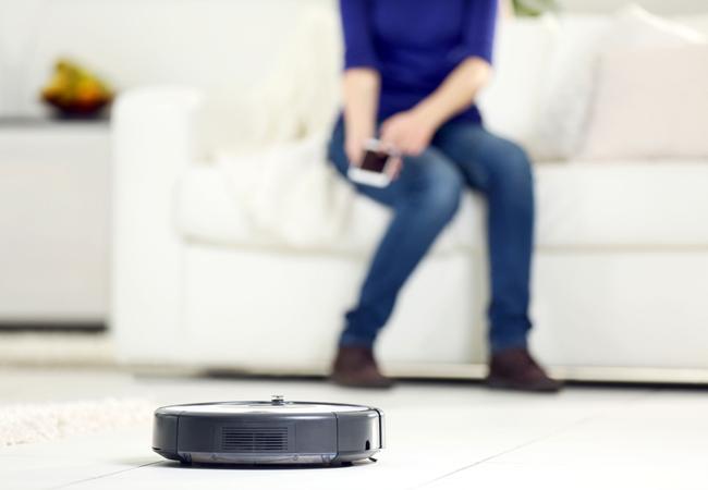 inventos para el hogar robot aspirador