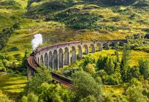 viaducto de Glenfinnan Harry Potter