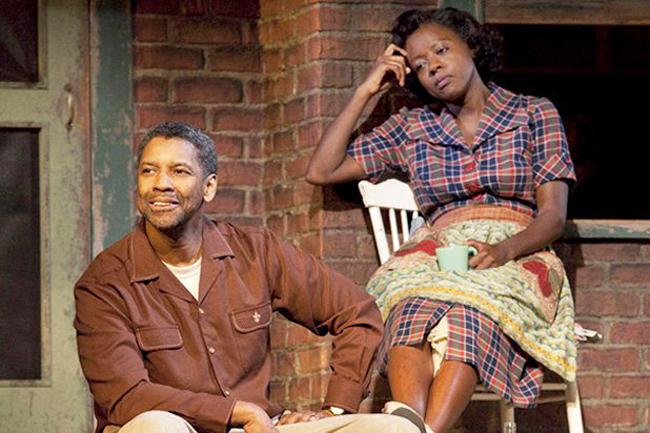 Fences. Viola Davis y Denzel Washington