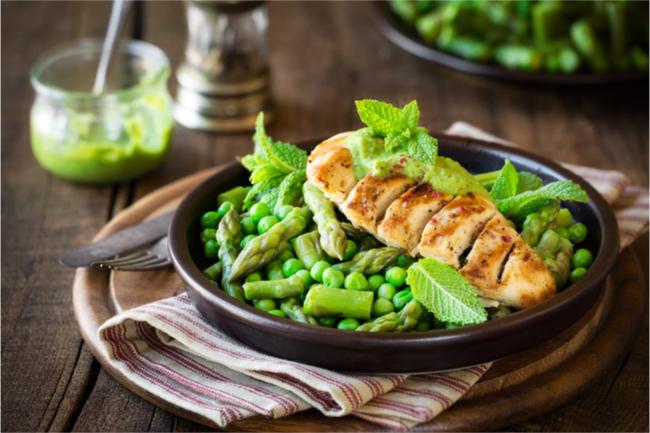 cocinar con antelación pollo