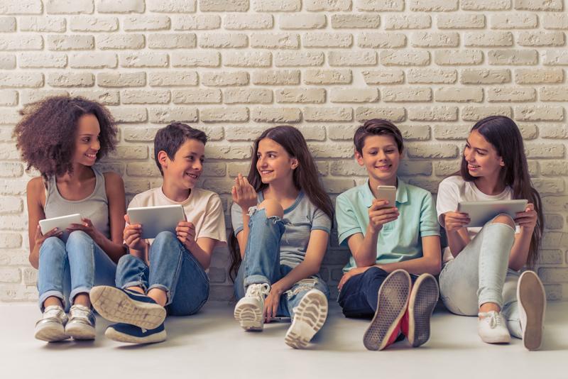 adolescentes redes sociales