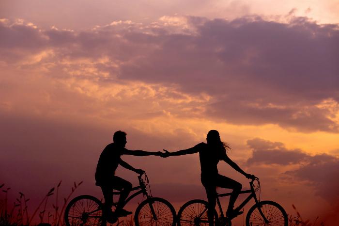 bicicletas en familia