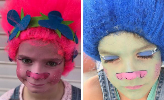 maquillajes para Carnaval