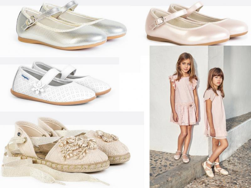 zapatos de ceremonia para niños