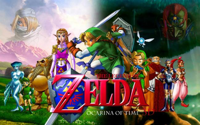 videojuegos zelda