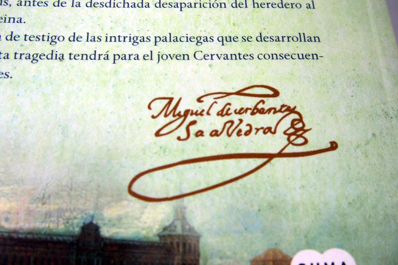 Cerbantes en la casa de Éboli, de Suma de Letras. Álvaro Espina reconstruye su vida durante los años en la corte al servicio de los príncipes de Éboli.