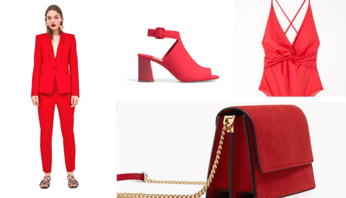 colores de primavera 2018 rojo moda