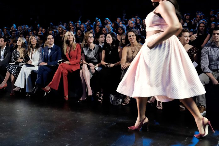Project Runway - Front Row - Spring 2016 New York Fashion Week: The Shows