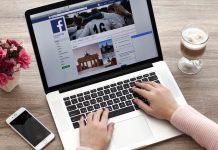 Consultando facebook en internet