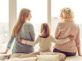 familia madre hija abuela