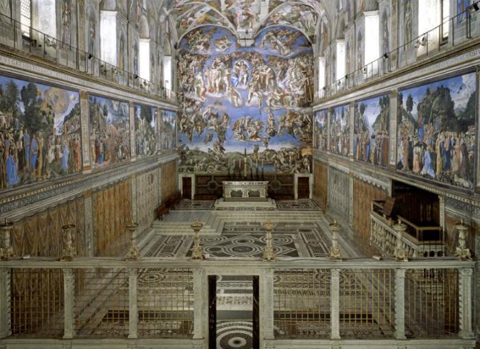 Vaticano Capilla Sixtina
