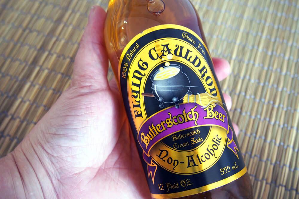 Botella cerveza mantequilla