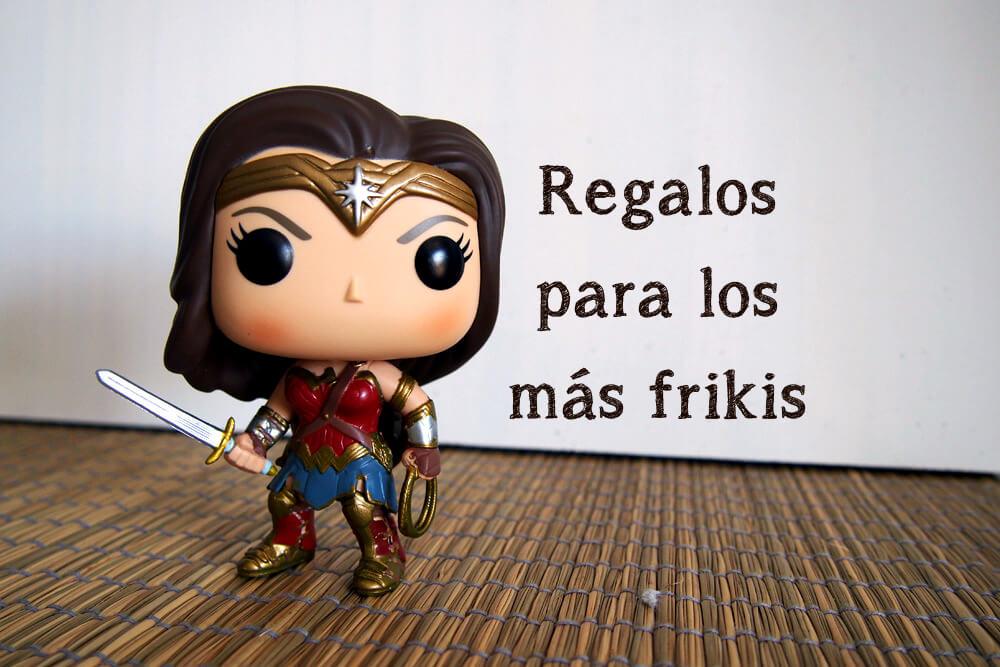 Regalos para los mas frikis Wonderwoman