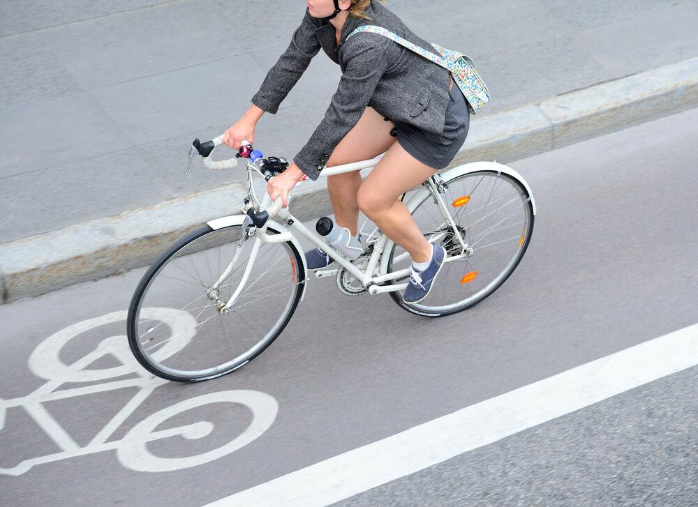 dejar el coche y usar la bici