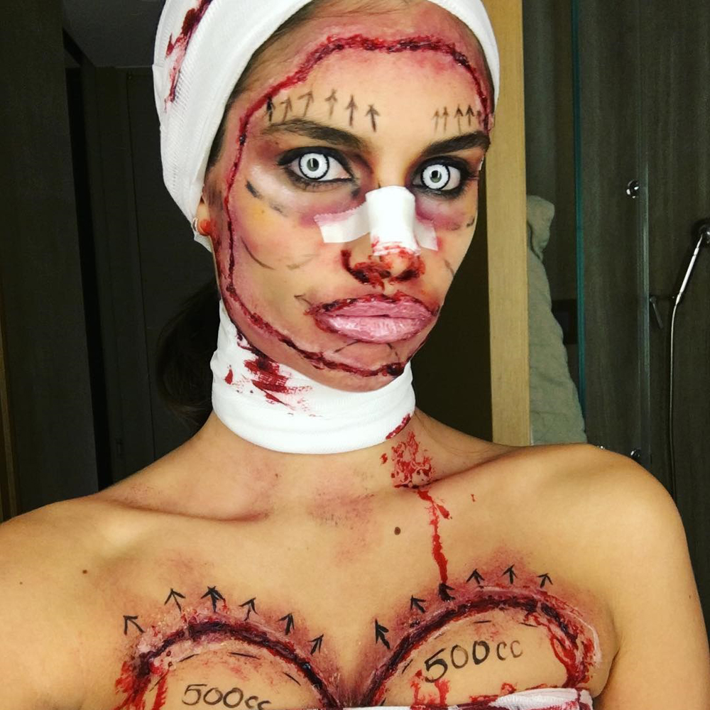 disfraces de halloween Sara Sampaio