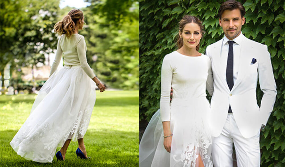 Olivia Palermo traje de novia. Novias famosas