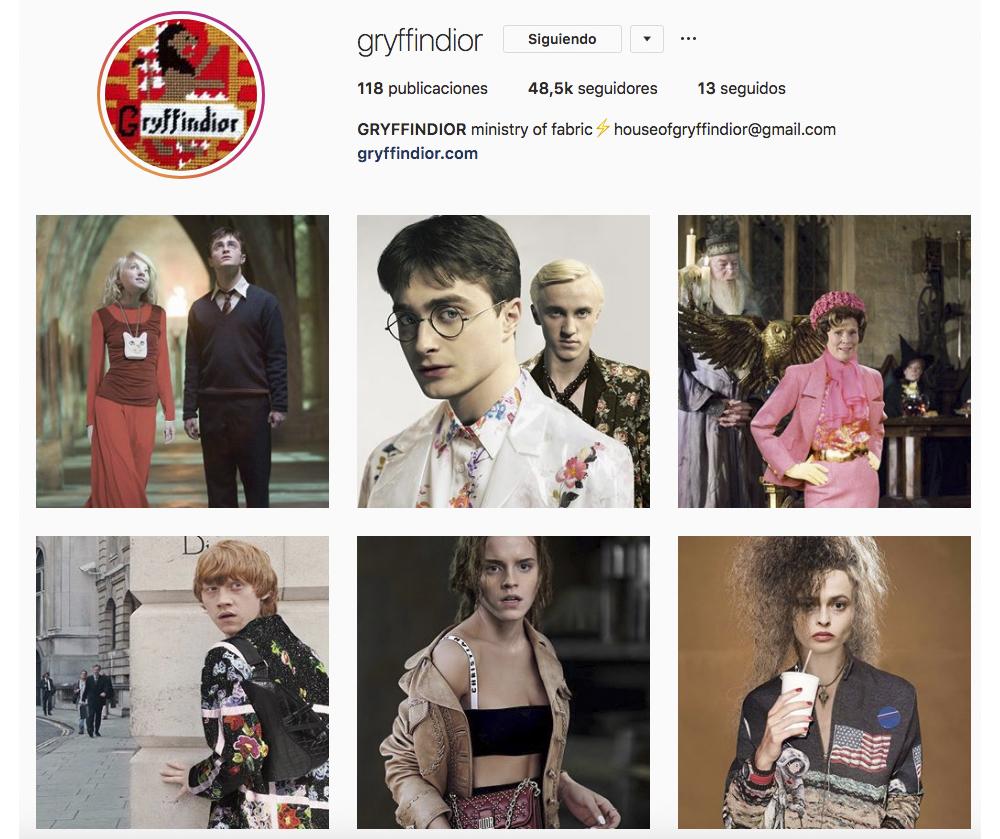 Instagramlovers. Griffindior