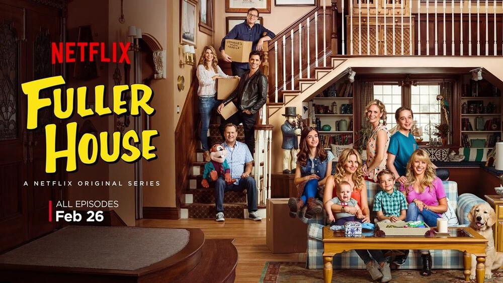 madres forzosas. Fuller House, Netflix