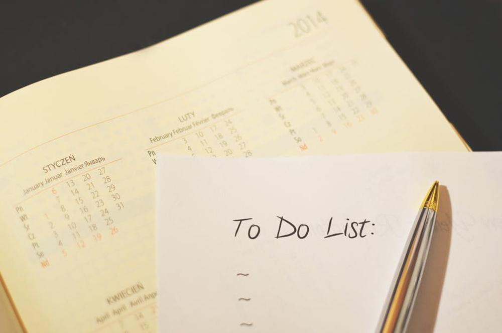 ideas de gestión del tiempo listas
