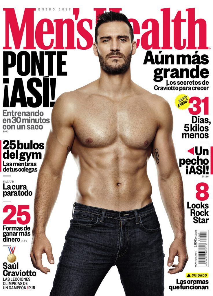 Saul craviotto portada Men´s health